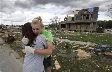 Storm victims